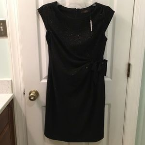 The Limited black sparkle dress